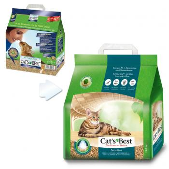 Cats Best Green Power Sensitive Organik Ultra Emici Kedi Kumu 8 Lt