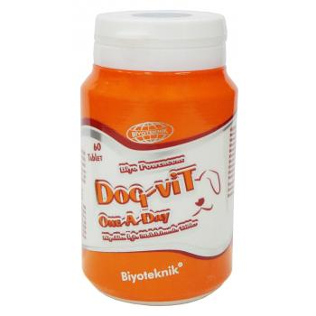 Biyoteknik Dog-Vit One A Day  Köpek Vitamini 60 Tablet