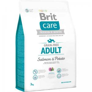 Brit Care Adult All Breed Salmon&Potato Köpek Maması 3 kg