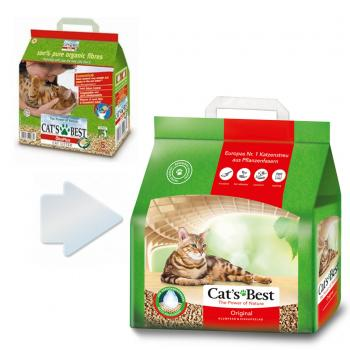Cats Best Öko Plus Original Kedi Kumu 5 lt