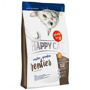 Happy Cat Sensitive Ren Geyikli Tahılsız Kedi Maması 4 kg