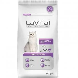 LaVital Cat Adult Hairball Lamb Kedi Maması 1,5 KG