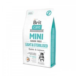 Brit Care Mini Light Sterillised Tavşanlı Tahılsız Köpek Maması 2kg