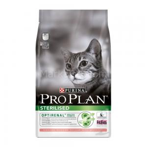 Pro Plan Sterilised Cat Salmon Somonlu 3 Kg