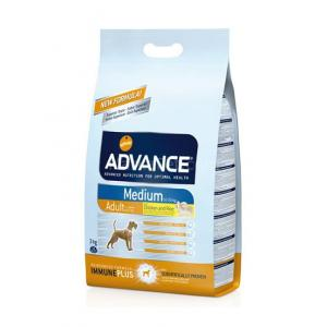Advance Medium Adult Chicken Tavuklu Orta Irk Köpek Maması 3 Kg
